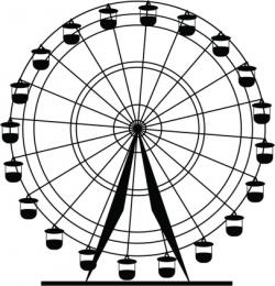 Drawn ferris wheel