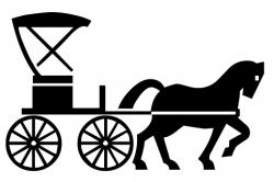 Horse-drawn Carriage clipart