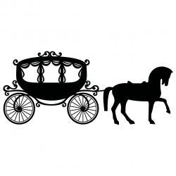 Wedding clipart cart