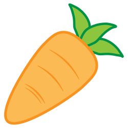 Vegetable clipart carrot nose