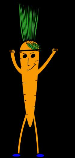 Carrot clipart strong