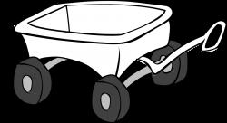 Pioneer clipart hay wagon