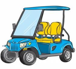 Golf Course clipart golf cart