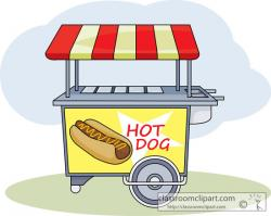 Hot Dog clipart hot dog cart