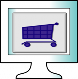 Cart clipart internet shopping