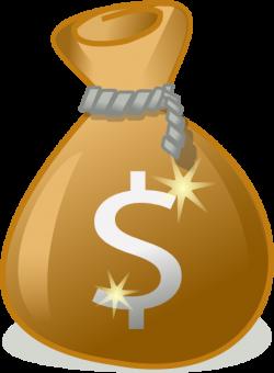 Coin clipart sack money