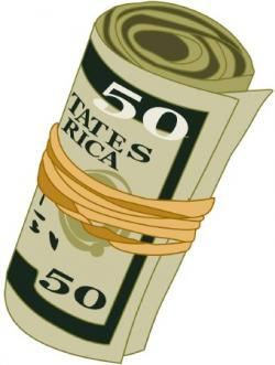 Cash clipart money bill