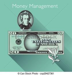 Cash clipart money management