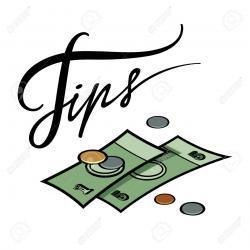 Cash clipart money tip