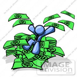 Cash clipart pile money