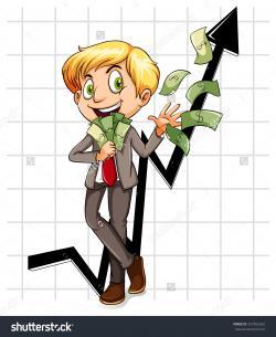 Money clipart rich man