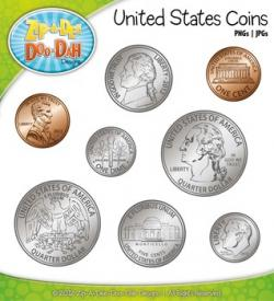 Coin clipart american coin