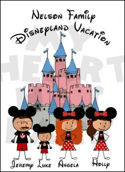 Disneyland clipart disney vacation