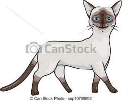 Siamese Cat clipart cartoon