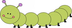 Larger clipart caterpillar