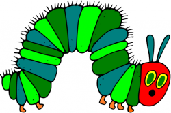 Silk clipart hungry caterpillar