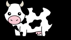 Herbivorous clipart cow
