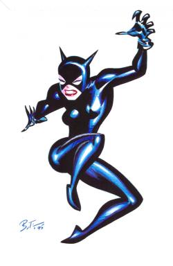 Catwoman clipart 70's