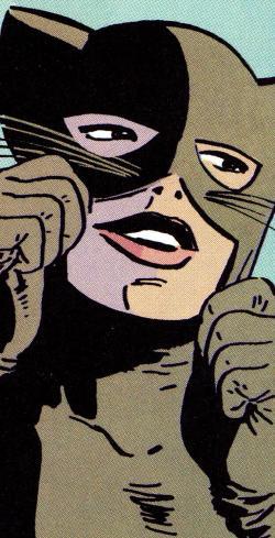 Catwoman clipart bronze age