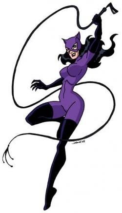 Catwoman clipart original comic book