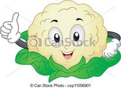 Cauliflower clipart funny