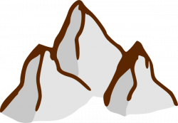 Peak clipart high mountain