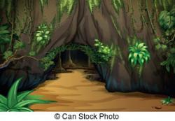 Cave clipart illustration