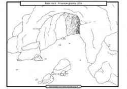 Cavern clipart bear hunt