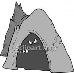 Cavern clipart inside cave