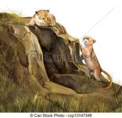 Cave clipart lion's den