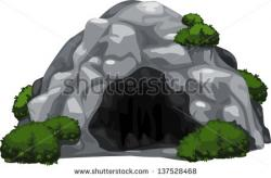 Cavern clipart mountain cave