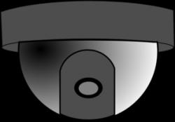 Dome clipart cctv camera