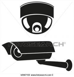 Surveillance clipart logo