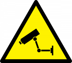 Surveillance clipart security alarm