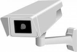 Surveillance clipart network security