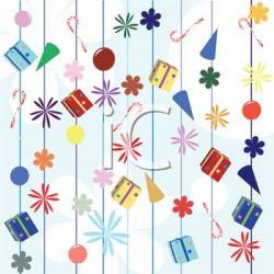 Celebration clipart background image