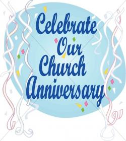 Confetti clipart church anniversary