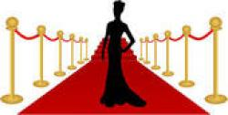 Red Carpet clipart famous person
