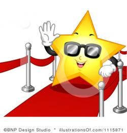 Red Carpet clipart celebrity