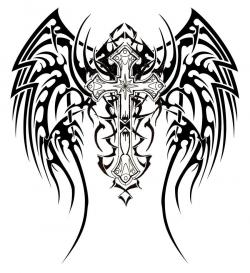 Fallen Angel clipart celtic