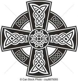 Celt clipart celtic cross