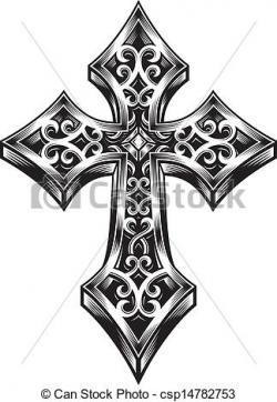Celt clipart gothic cross