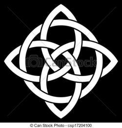 Pentagram clipart celtic knot