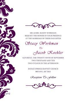 Elegance  clipart elegant invitation