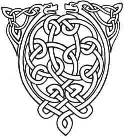 Celtic Knot clipart scandinavian