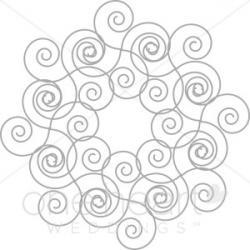 Celt clipart swirls