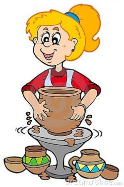 Vase clipart pottery making