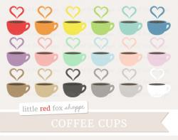 Cappuccino clipart coffee heart