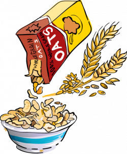 Grains clipart oats
