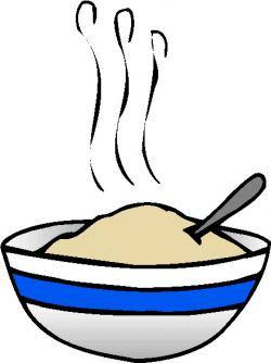 Oatmeal clipart baking bowl